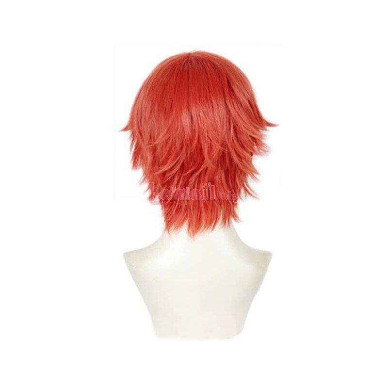Anime SSSS.GRIDMAN Hibiki Yuta Short Jacinth Cosplay Wigs