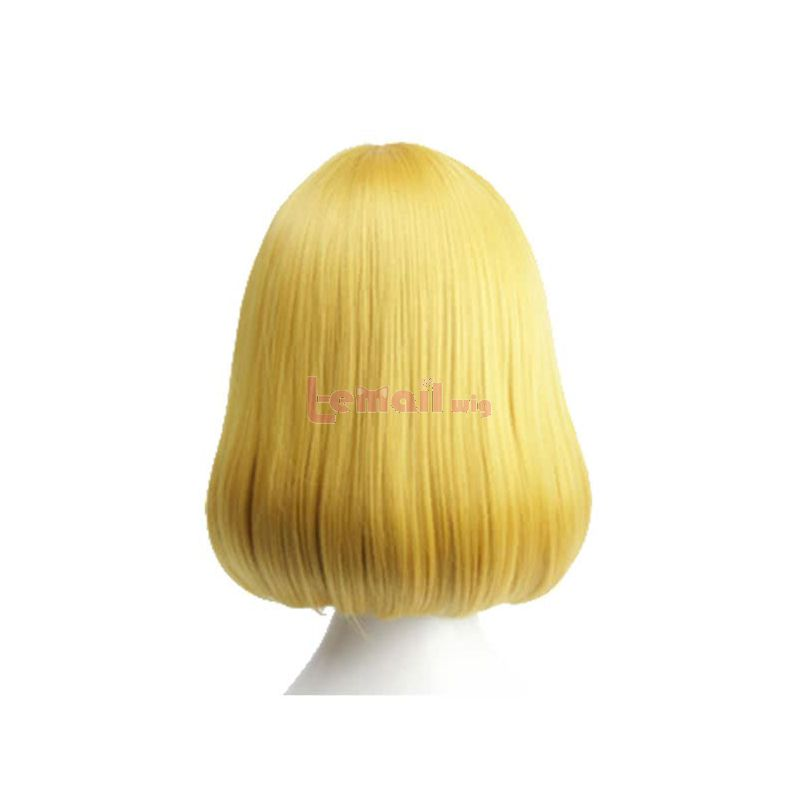Anime Prison School Midorikawa Hana Flat Bangs Bobo Cosplay Wigs