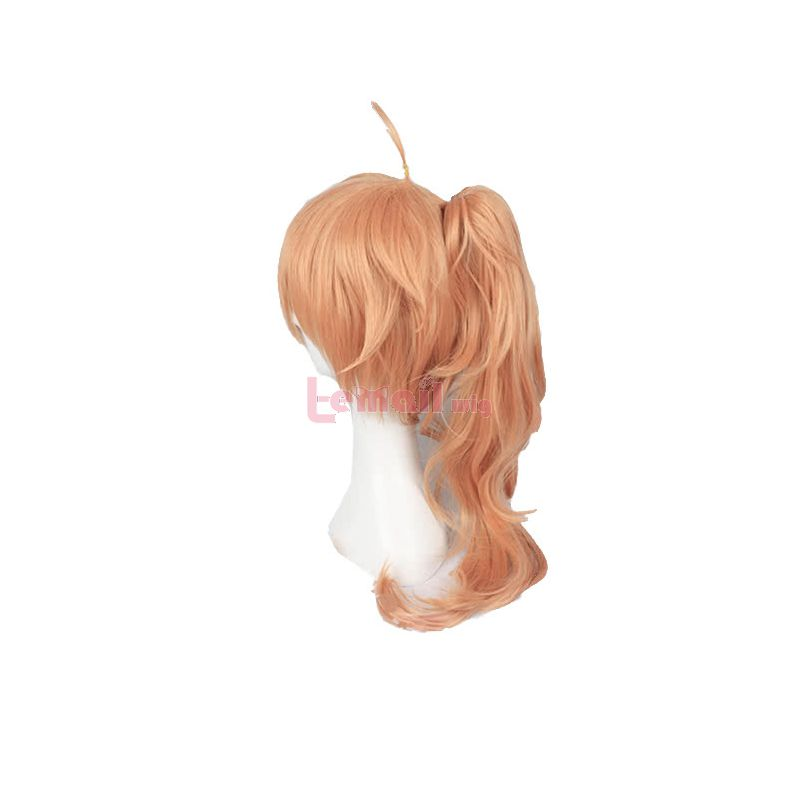 Fate Grand Order Dr.Romani Archaman Orange Cospaly Wig