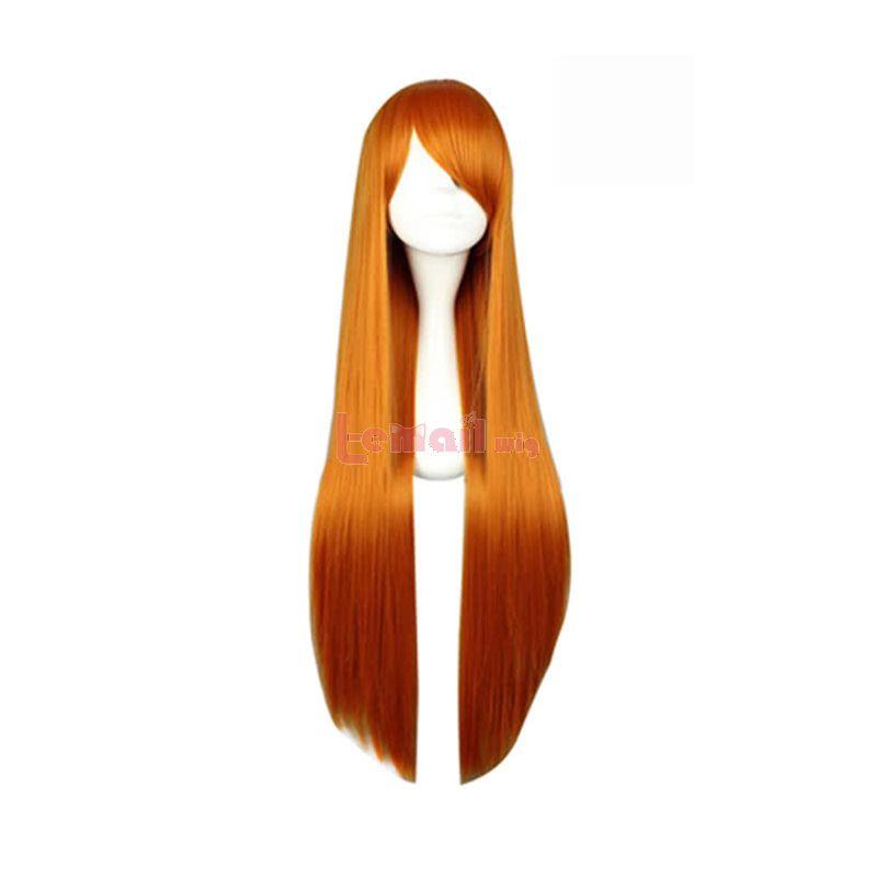 Anime Mikuru Asahina Straight Cosplay Wig