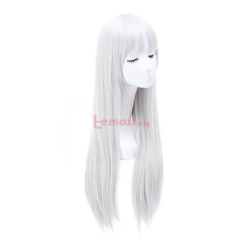 80cm Grey Secret Base Honma Meiko Long Cosplay Wigs