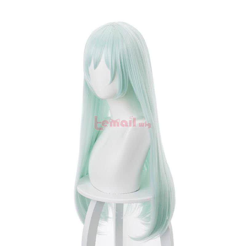 80cm Honkai Impact 3 Liliya Olenyeva Peppermint Green Cosplay Wigs Long Straight