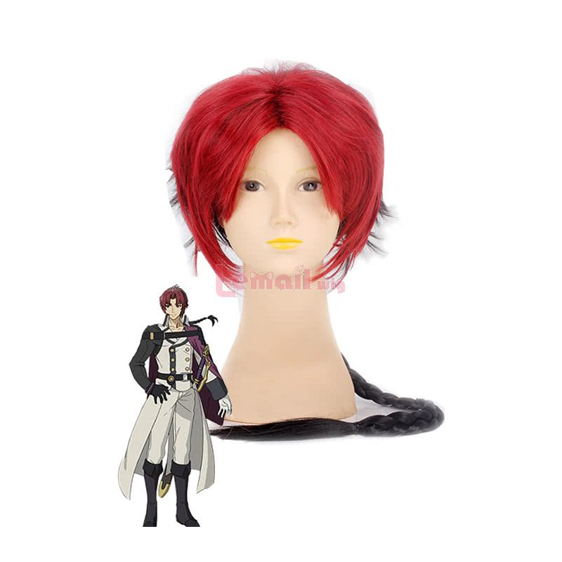 Anime Seraph Of The End Crowley Eusford Cosplay Wigs