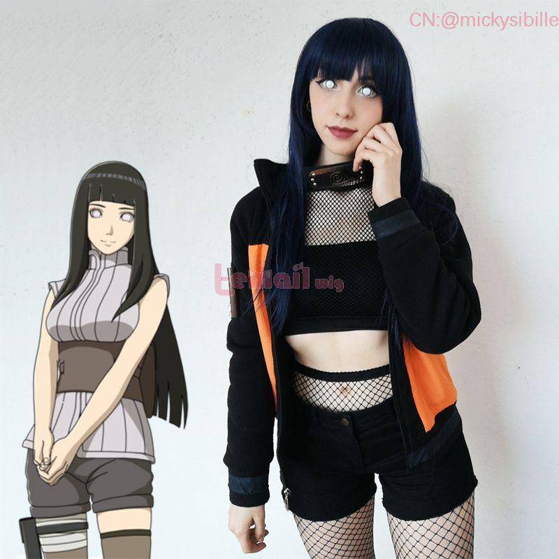 Anime NARUTO Hinata Hyuga Cosplay Wigs