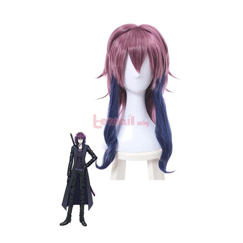 K Project Mishakuji Yukari Styled Purple Cosplay Wigs