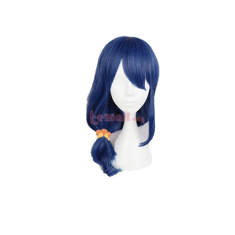 Anime Tsurezure Children Ayaka Kamine Dark Blue Cosplay Wig