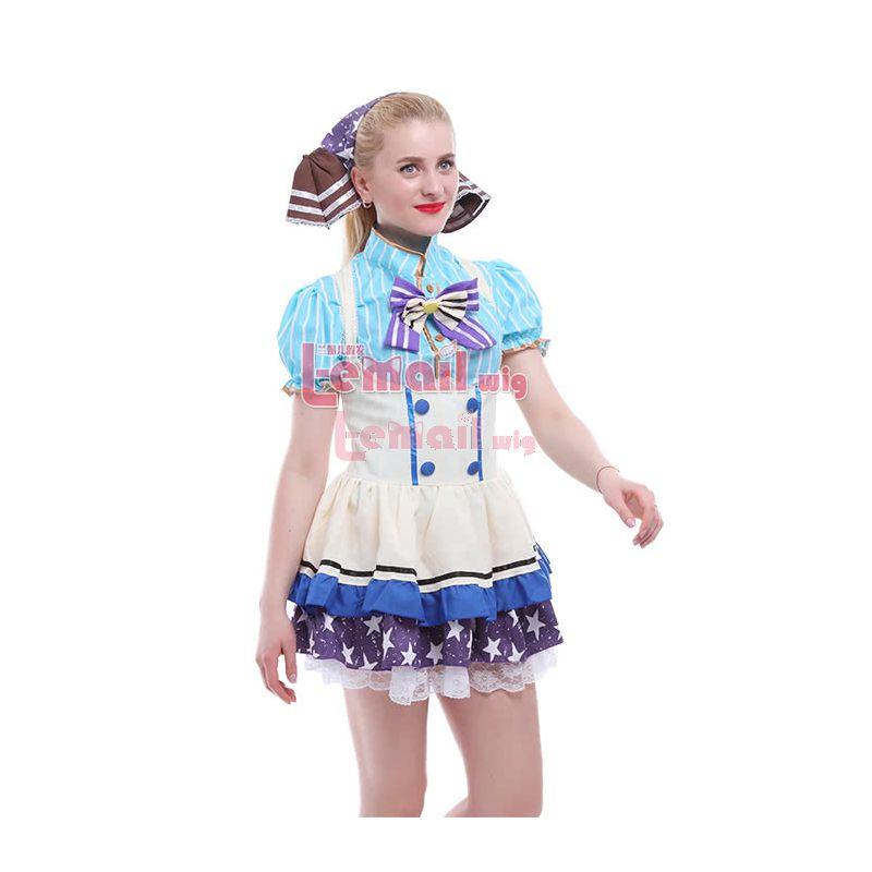 Love Live! Nozomi Tojo Japanese Candy Set Anime Maid Tutu Coplay Costume