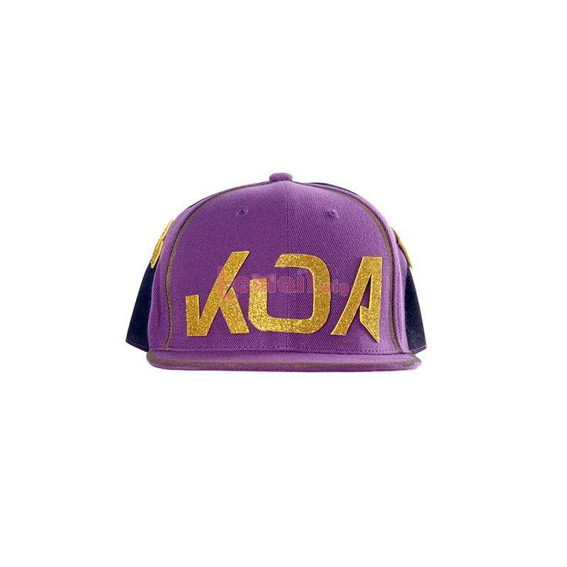 LOL KDA Skin Akali Cosplay Hat And Mask