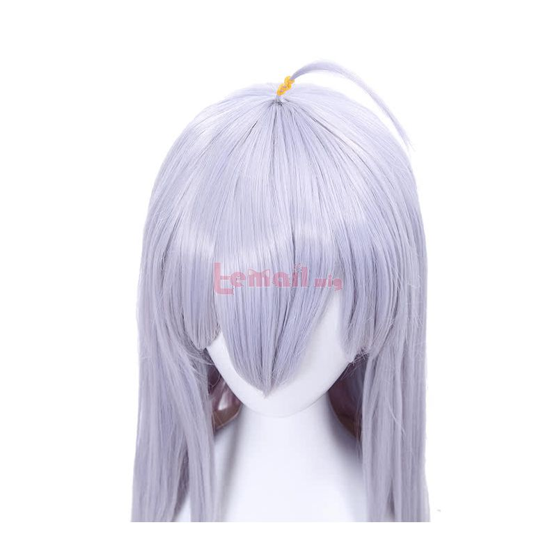 Akashic Records of Bastard Magic Instructor Sistine Fibel Long Purple Synthetic Women Cosplay Wigs