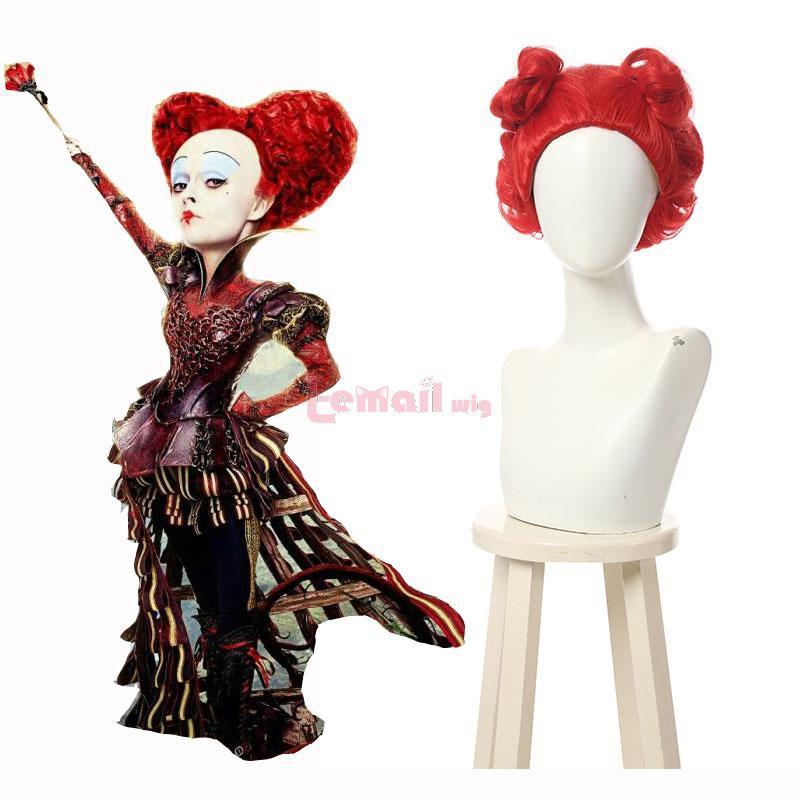 Alice In Wonderland 2 Adventure In The Mirror Queen Of Hearts Cosplay Wig