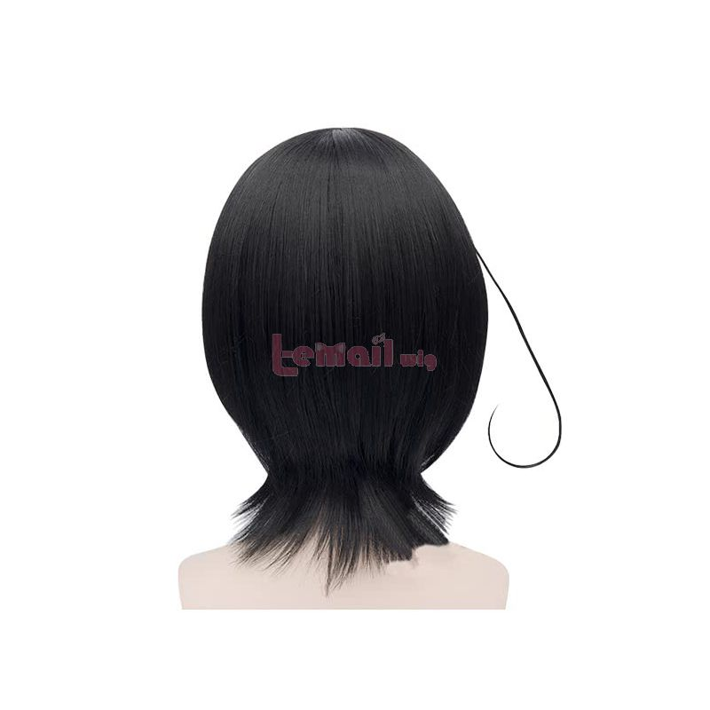 Anime Another Misaki Mei Medium Straight Black Cosplay Wigs