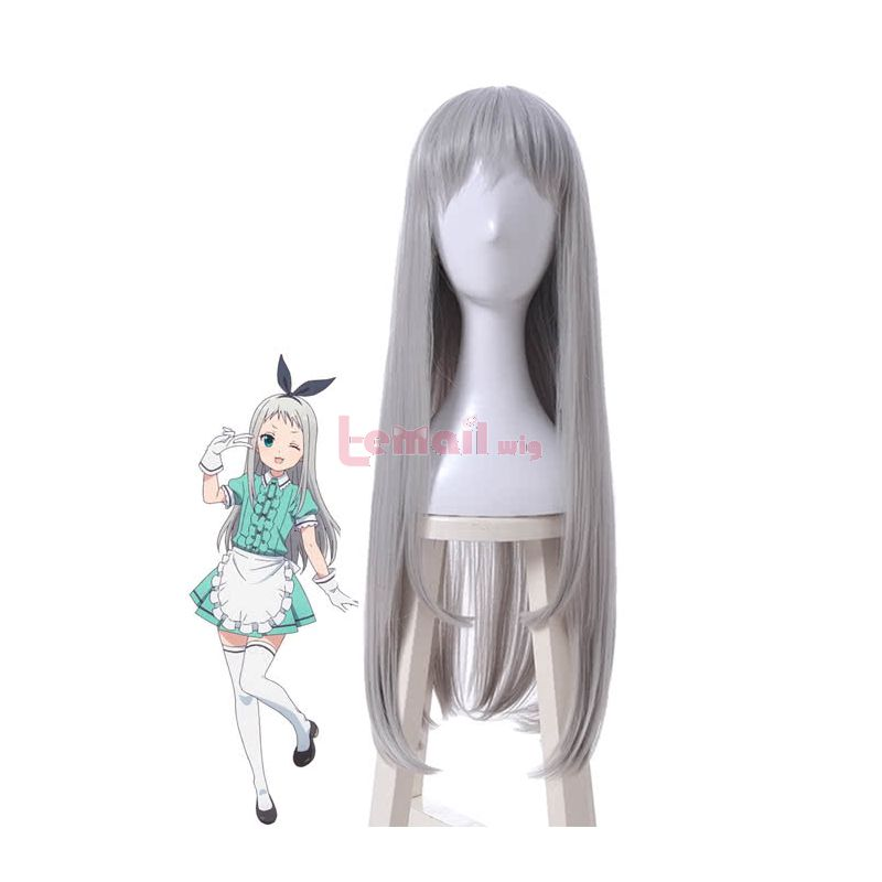 Anime Blend S Hideri Kanzaki Silver Cosplay Wigs