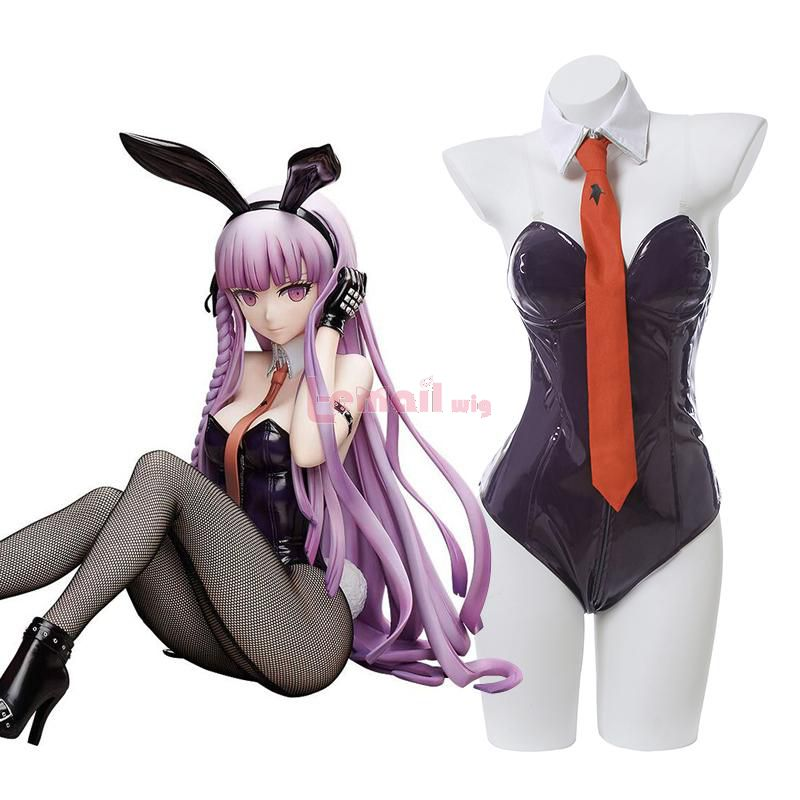 Anime Danganronpa Kyoko Kirigiris Bunny Girl Jumpsuit Cosplay Costume