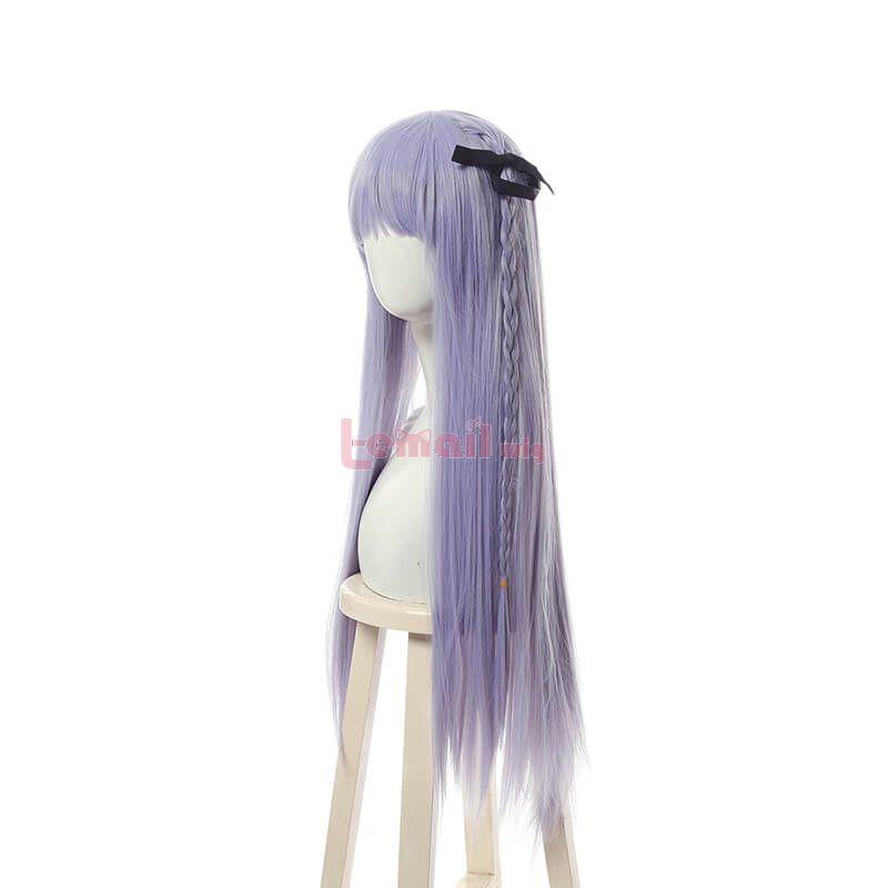 Anime Danganronpa Kyoko Kirigiris Cosplay Wigs Light Purple Long Straight