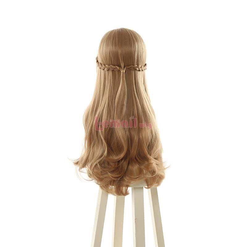 Anime Do You Love Your Mom and Her Two-Hit Multi-Target Attacks Oosuki Mamako Long Curly Brown Cosplay Wigs