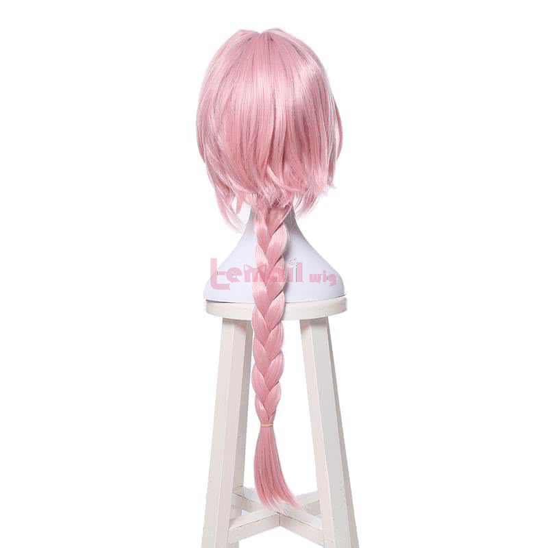 Anime Fate Apocrypha Astolfo Cosplay Wig Pink Straight Wig