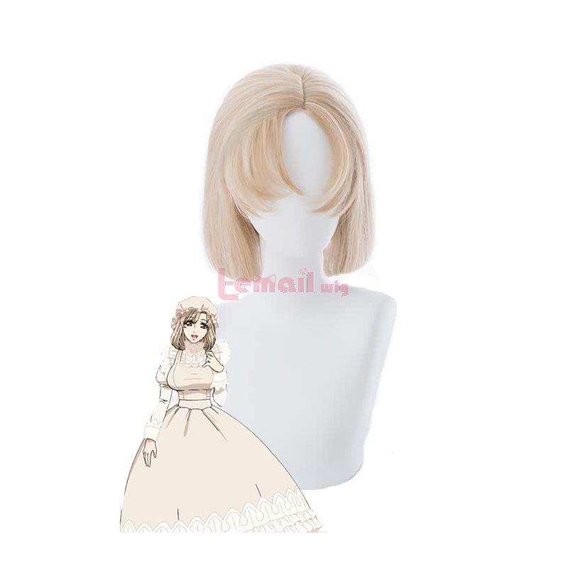 Anime Hataraku Saibou Macrophage Cosplay Wigs