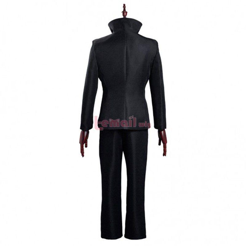 Anime Jujutsu Kaisen Megumi Fushiguro Black Uniform Cosplay Costume