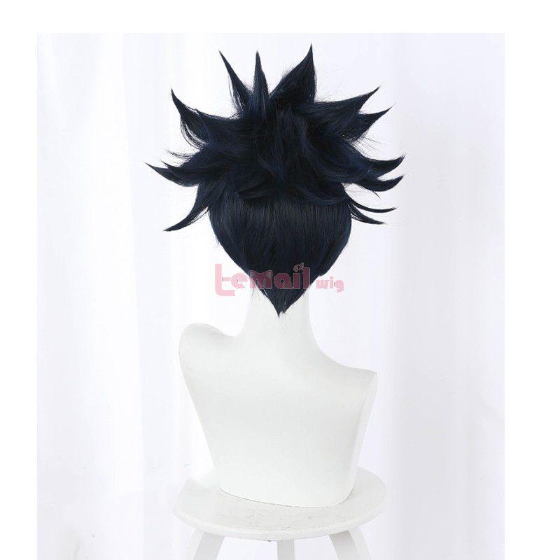 Anime Jujutsu Kaisen Megumi Fushiguro Black Cosplay Wigs