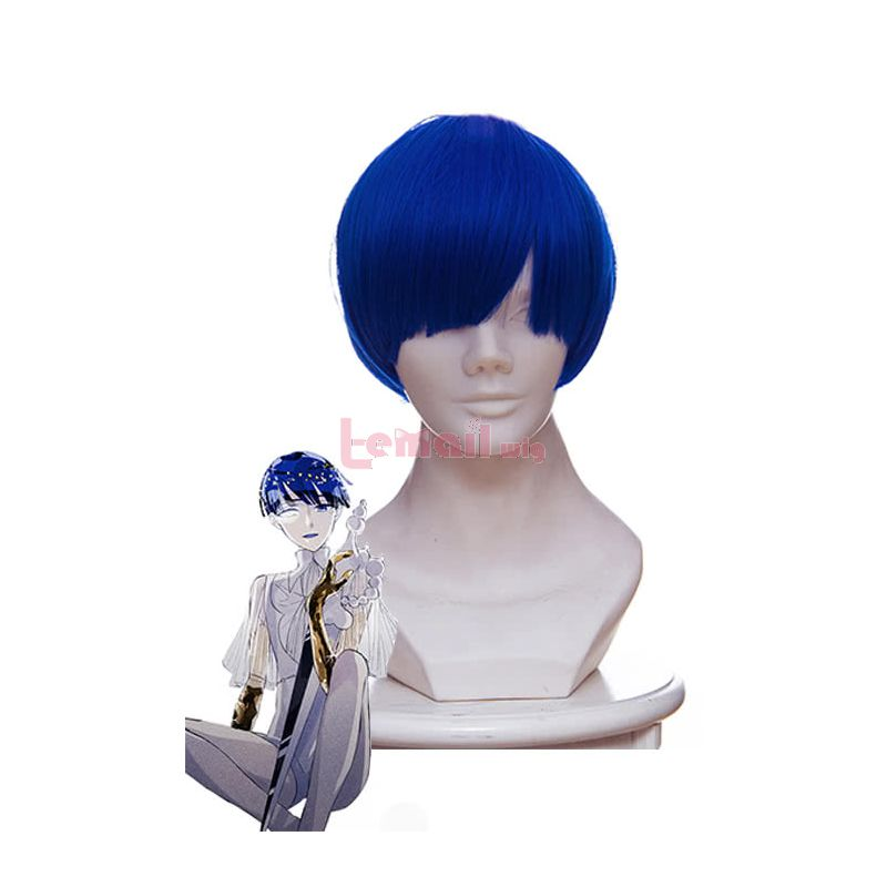 Anime Land of the Lustrous Lapis Cosplay Wigs