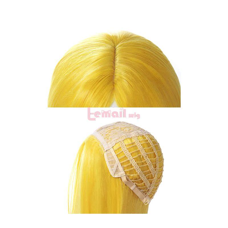 Anime Land of the Lustrous Yellow Diamond Houseki no Kuni Cosplay Wigs