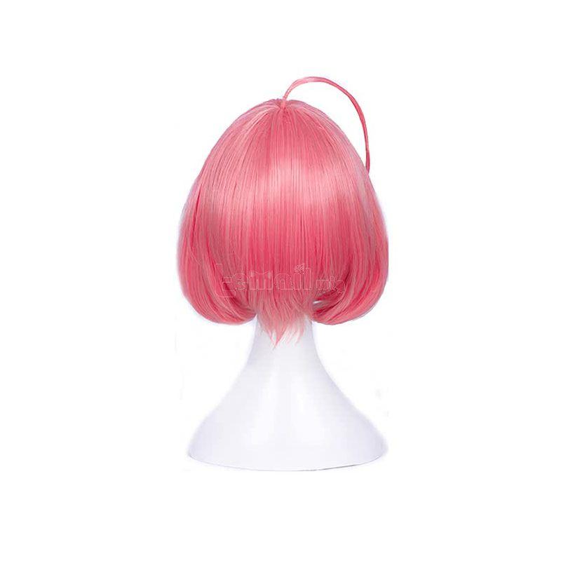 Anime Magical Girl Ore Saki Uno Pink Bobo Cosplay Wigs