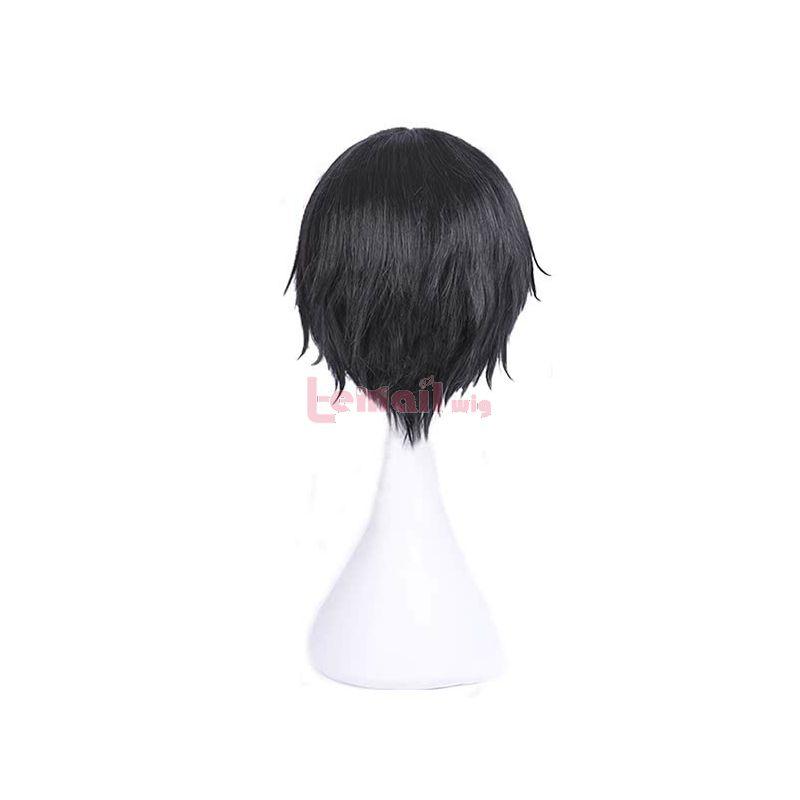 Anime Magical Girl Ore Sakuyo Mikage Black Short Man Cosplay Wigs