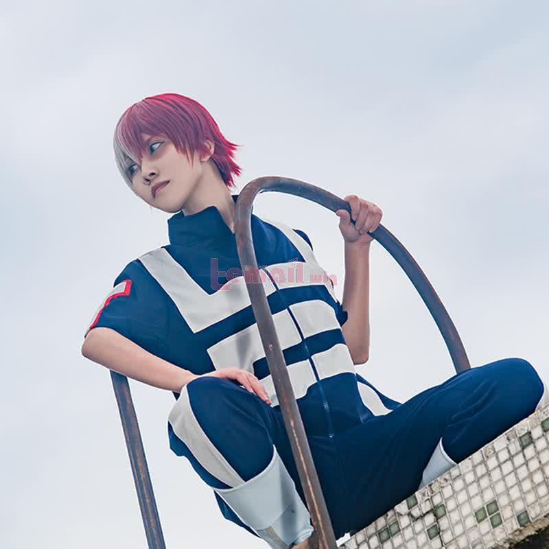 Anime My Hero Academia Todoroki Shoto Cosplay Costumes