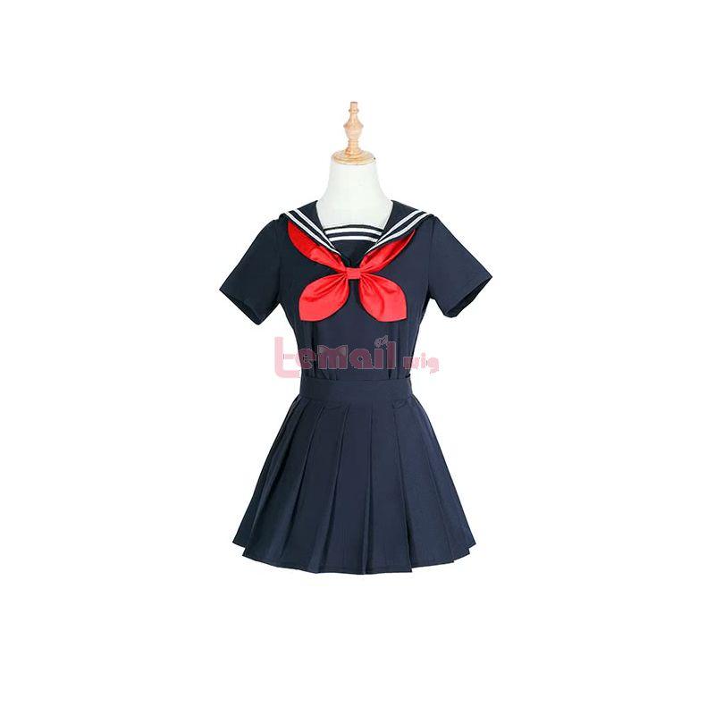 Anime My Hero Academia Himiko Toga Uniform Cosplay Costume