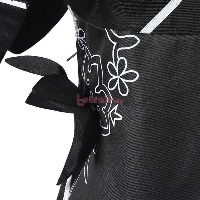 Anime Nier Automata 2B Black Cosplay Costume
