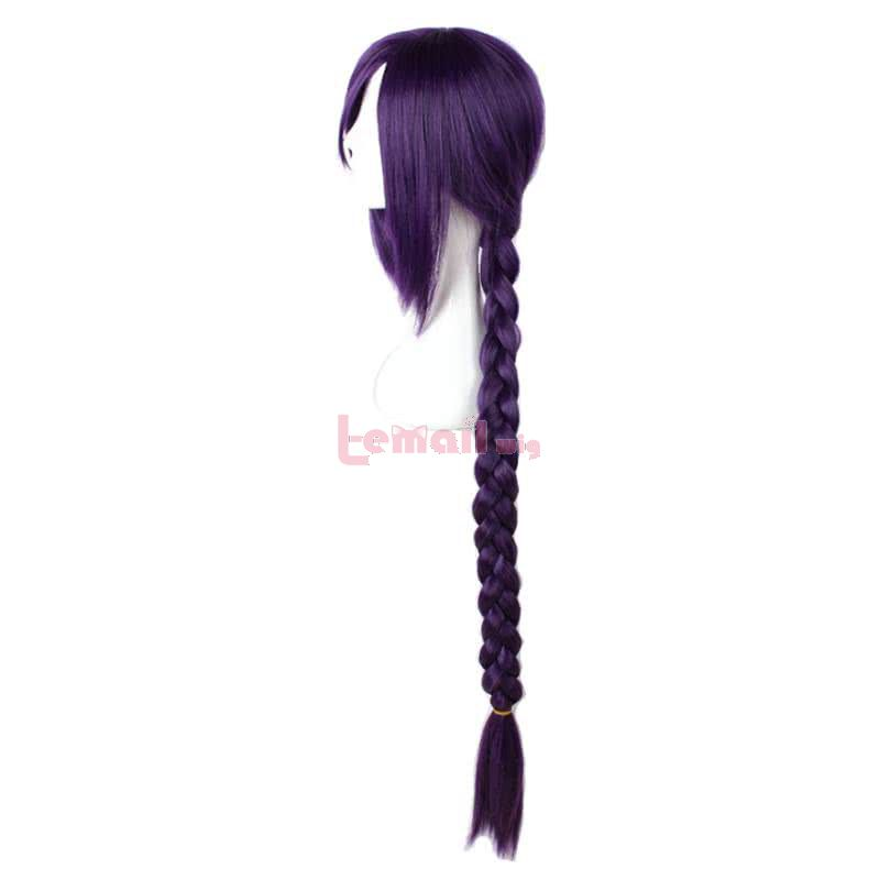 Anime ReCreators Magane Chikujoin Long Braid Purple Cosplay Wigs