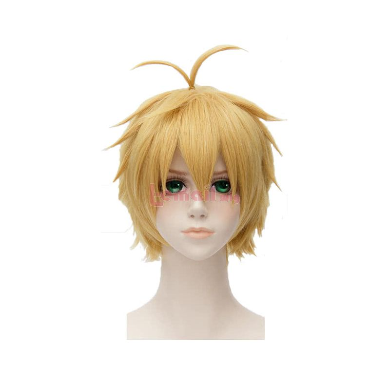 Anime The Seven Deadly Sins Meliodas Dragon's Sin of Wrath Cosplay Wigs