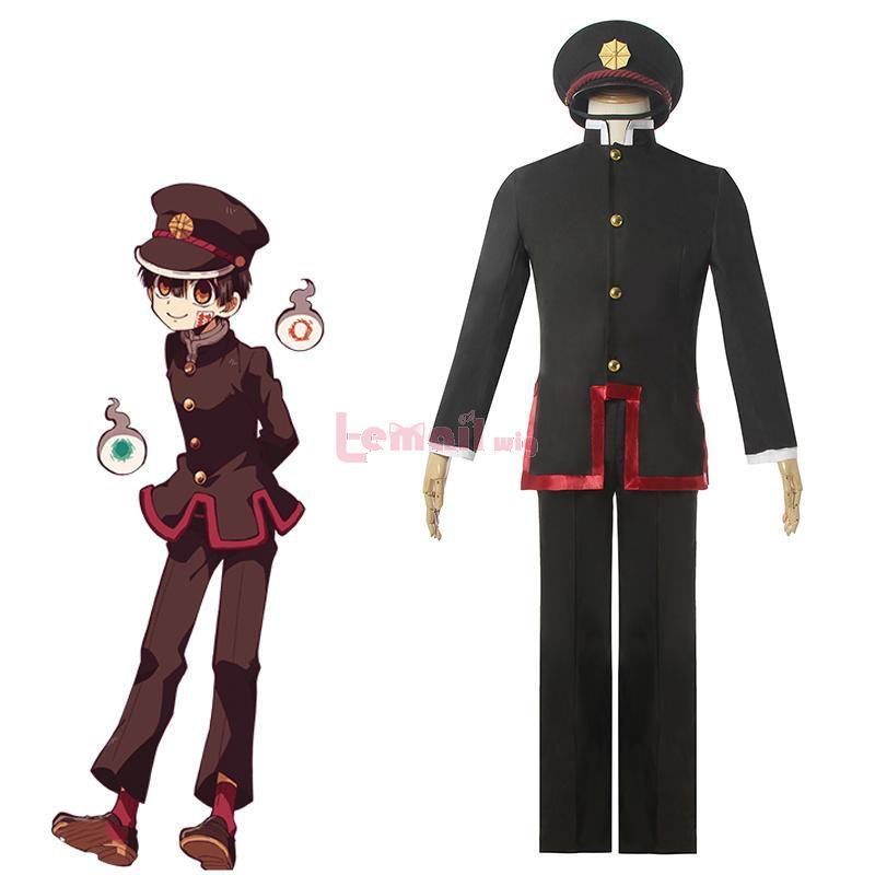 Anime Toilet-bound Hanako-kun Hanako-kun Men School Uniform Cosplay Costume