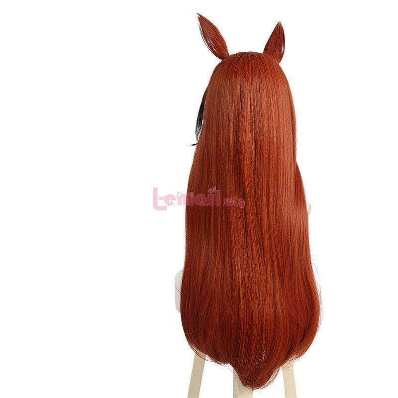 Anime Uma Musume Pretty Derby Symboli Rudolf Cosplay Wigs