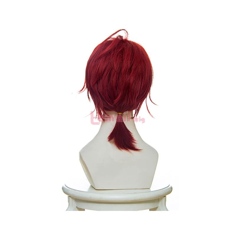 Anime Violet Evergarden Claudia Hodgins Cosplay Wigs Short Red