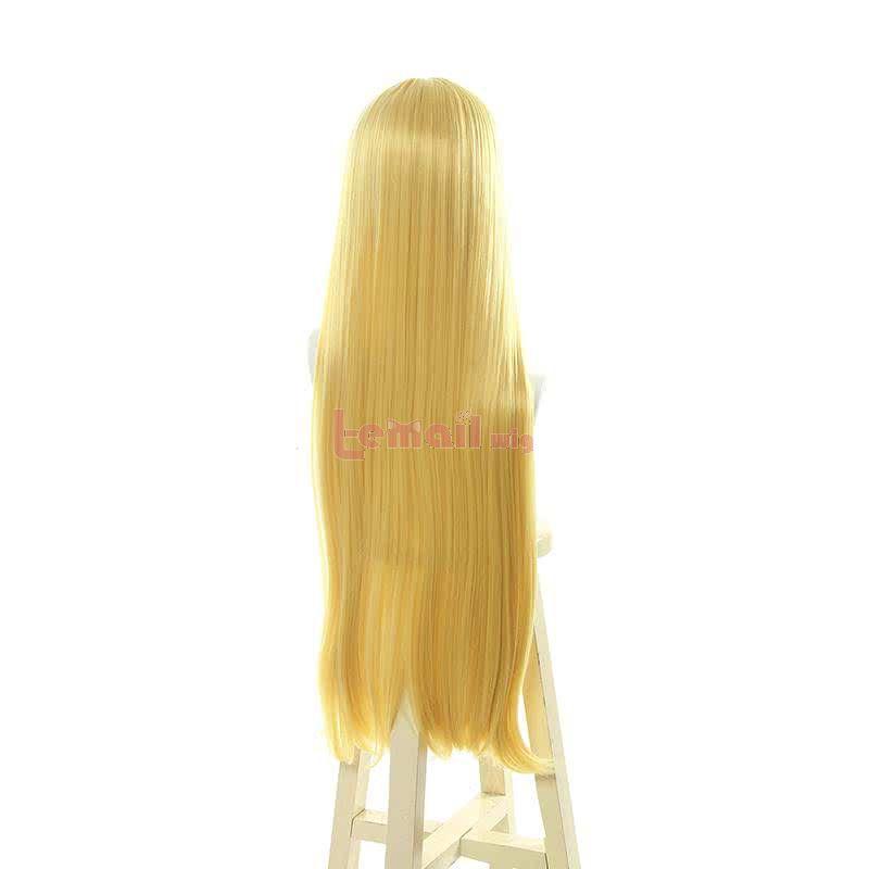 Arifureta Shokugyou de Sekai Saikyou Yue 80cm Straight Blonde Cosplay Wigs