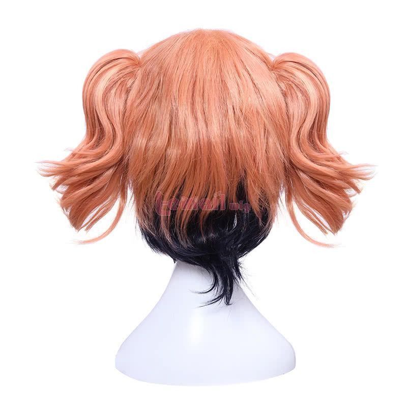 Riddle Story of Devil Haru Ichinose Cosplay Wigs Orange Synthetic Hair Wigs with Ponytails
