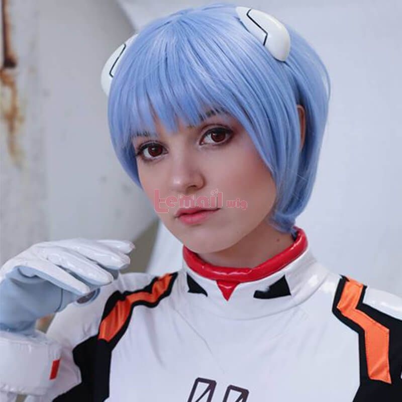 blue costume wigs