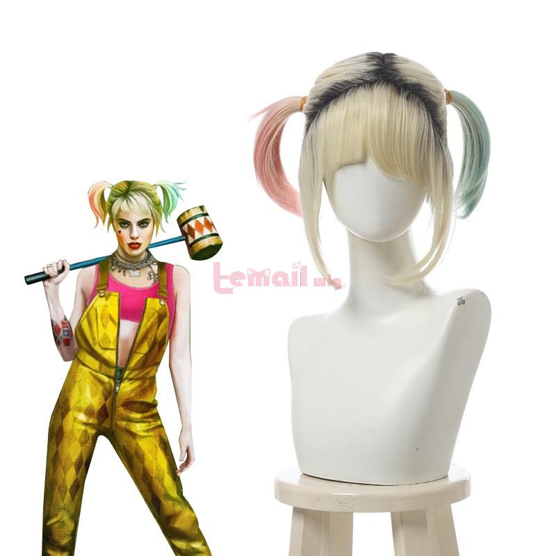 Birds of Prey And the Fantabulous Emancipation of One Harley Quinn Cosplay Wigs