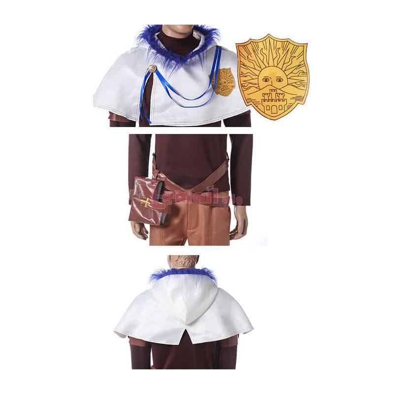 Black Clover Yuno Kurosurii Anime Cosplay Costumes