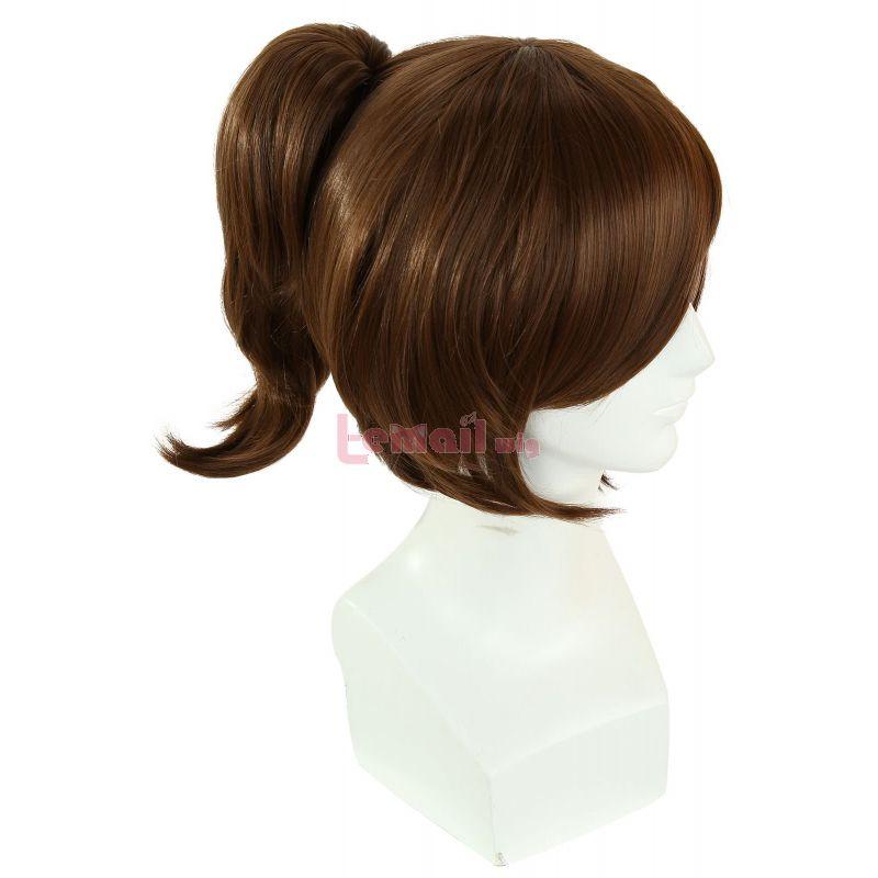 Attack on Titan Sasha Blouse Ponytail Brown Cosplay Wigs