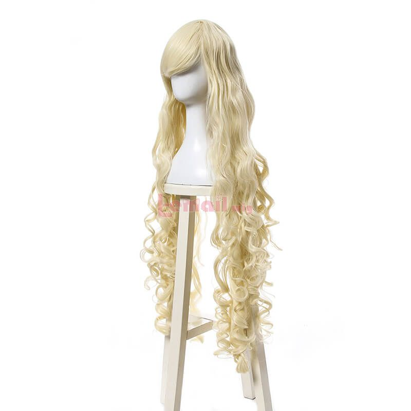 100cm Kagerou Project Marry Kozakura Synthetic Wigs Blonde