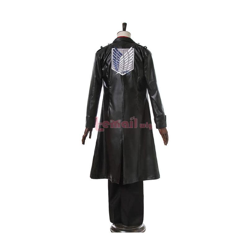 Anime Attack On Titan Levi Eren Cosplay Costume