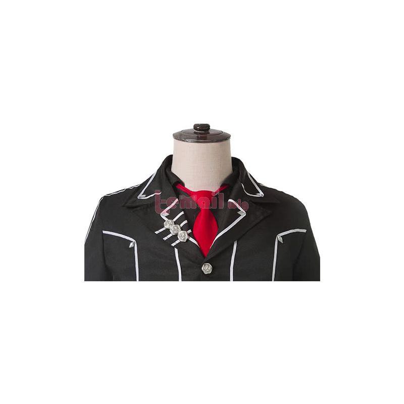 Anime Vampire Knight Zero Kiryu Black Cosplay Costume