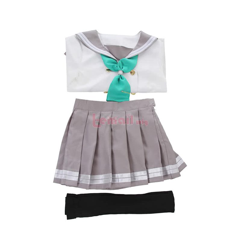 Anime Love Live! Sunshine Aqours Kurosawa Dia Girls School Uniform Cosplay Costumes