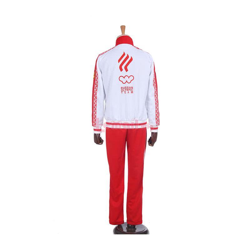 Yuri On Ice Victor Nikiforov Cosplay Costumes Sportswear Suits