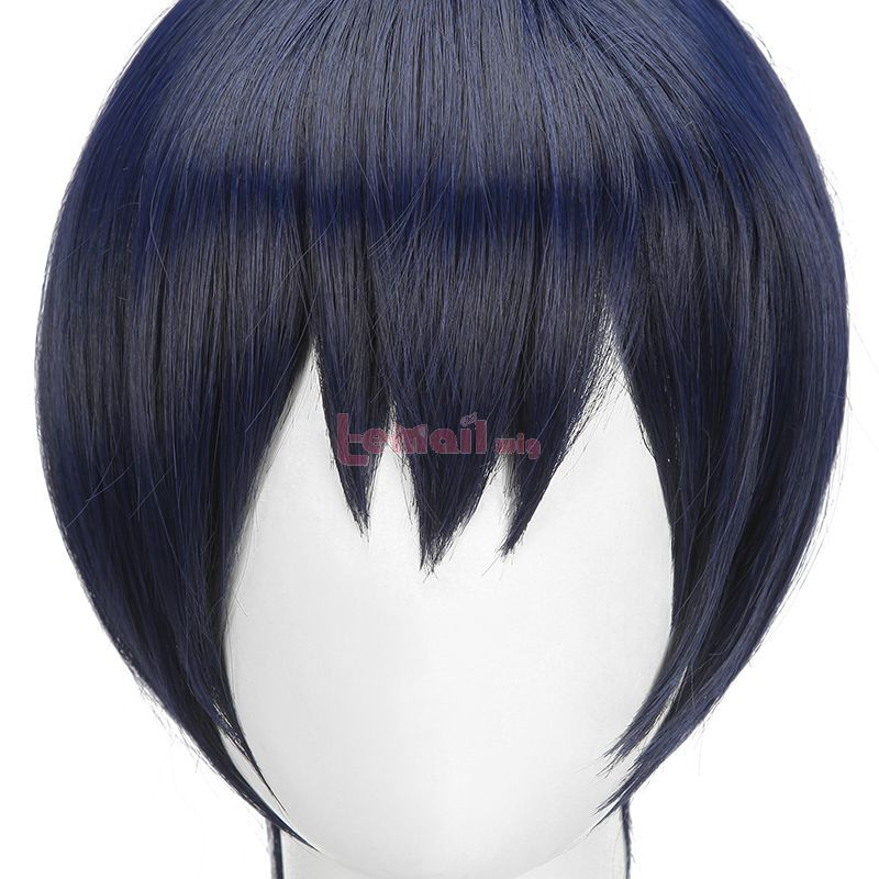 Chainsaw Man Aki Hayakawa Short Ponytail Cosplay Wigs