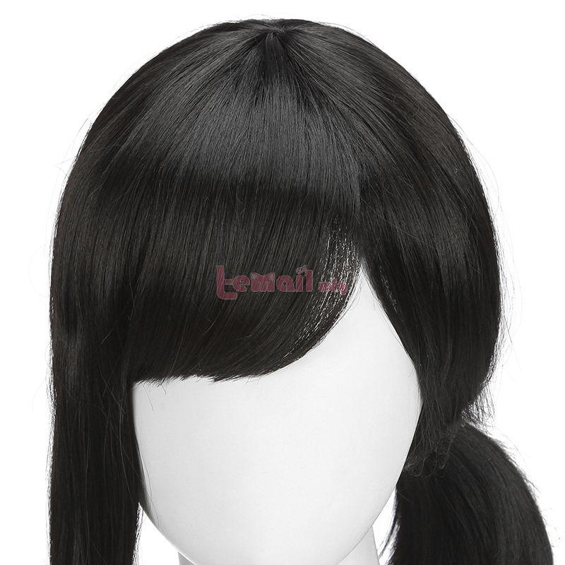 Chainsaw Man Kobeni Higashiyama Short Black Ponytail Cosplay Wigs