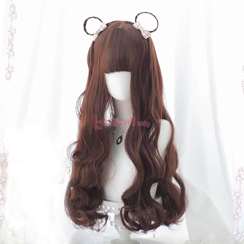 65cm Long Curly Harajuku Lolita Hair Women Fluffy Fashion Wigs