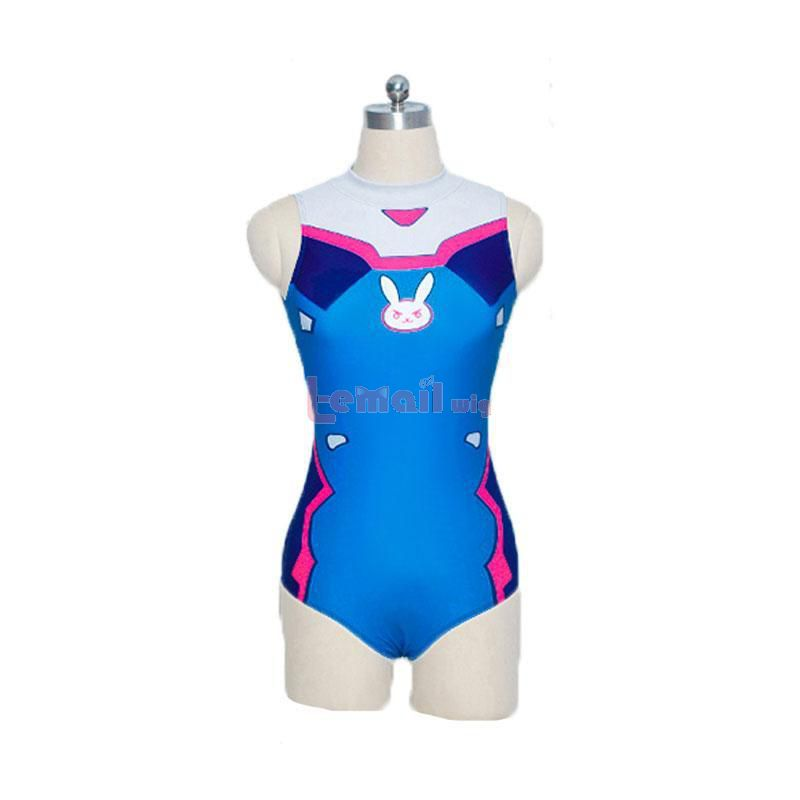 D.Va Hana Song Swiming Suit Fullset Cosplay Costume